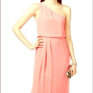 Adrianna papell coral dress size 8